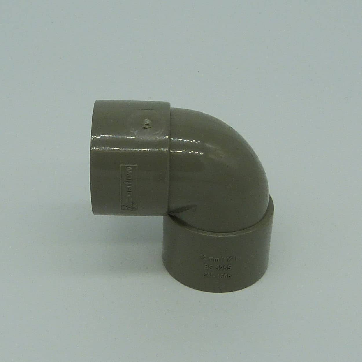 32mm solvent weld 90d tight bend grey