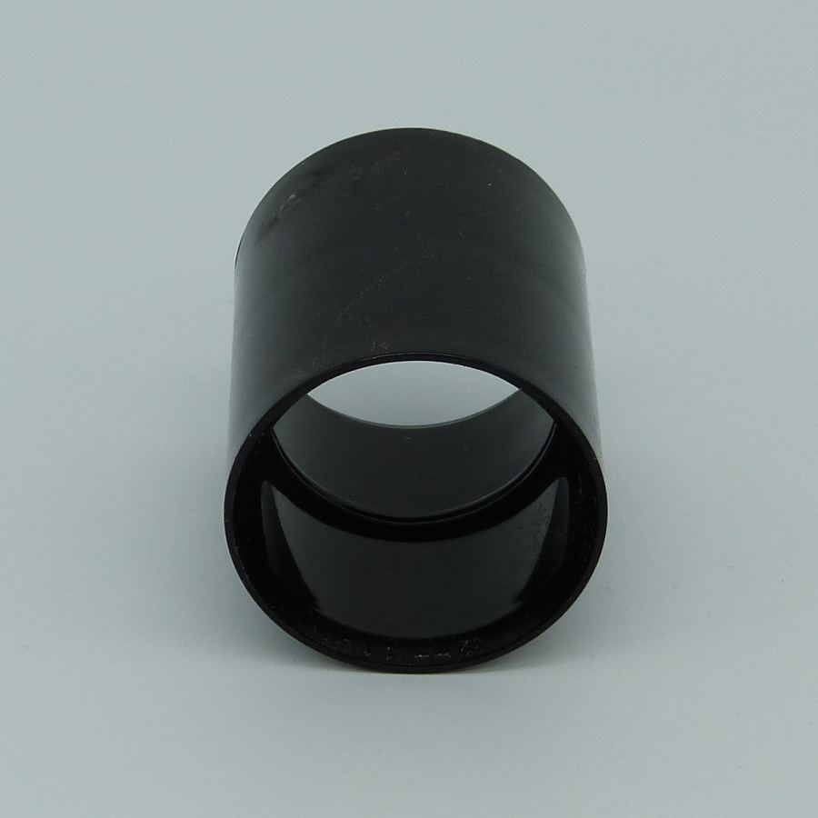32mm solvent weld coupler black