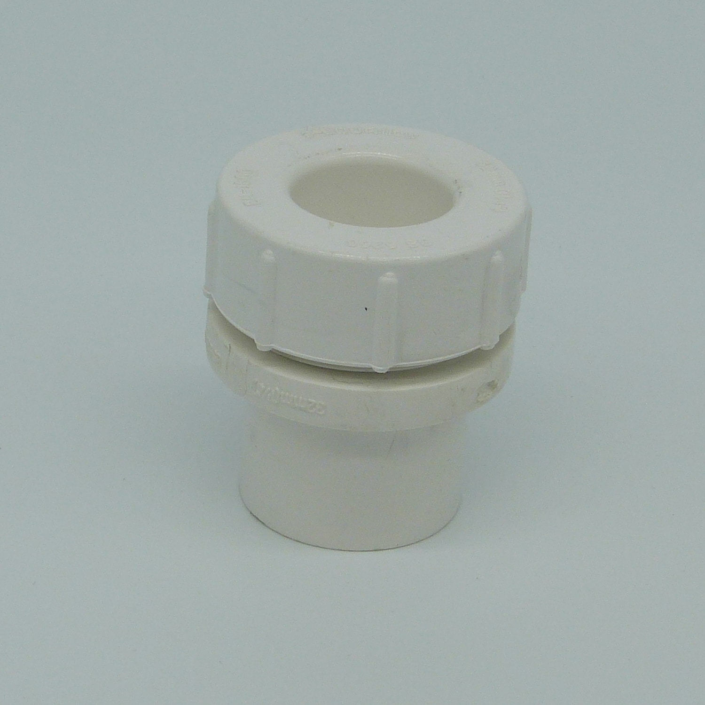 32mm solvent weld screw access cap white