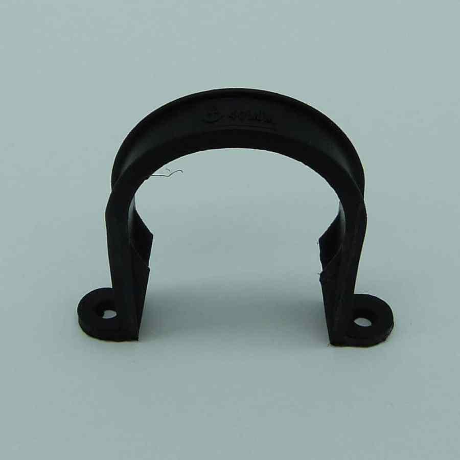 40mm pipe clip black