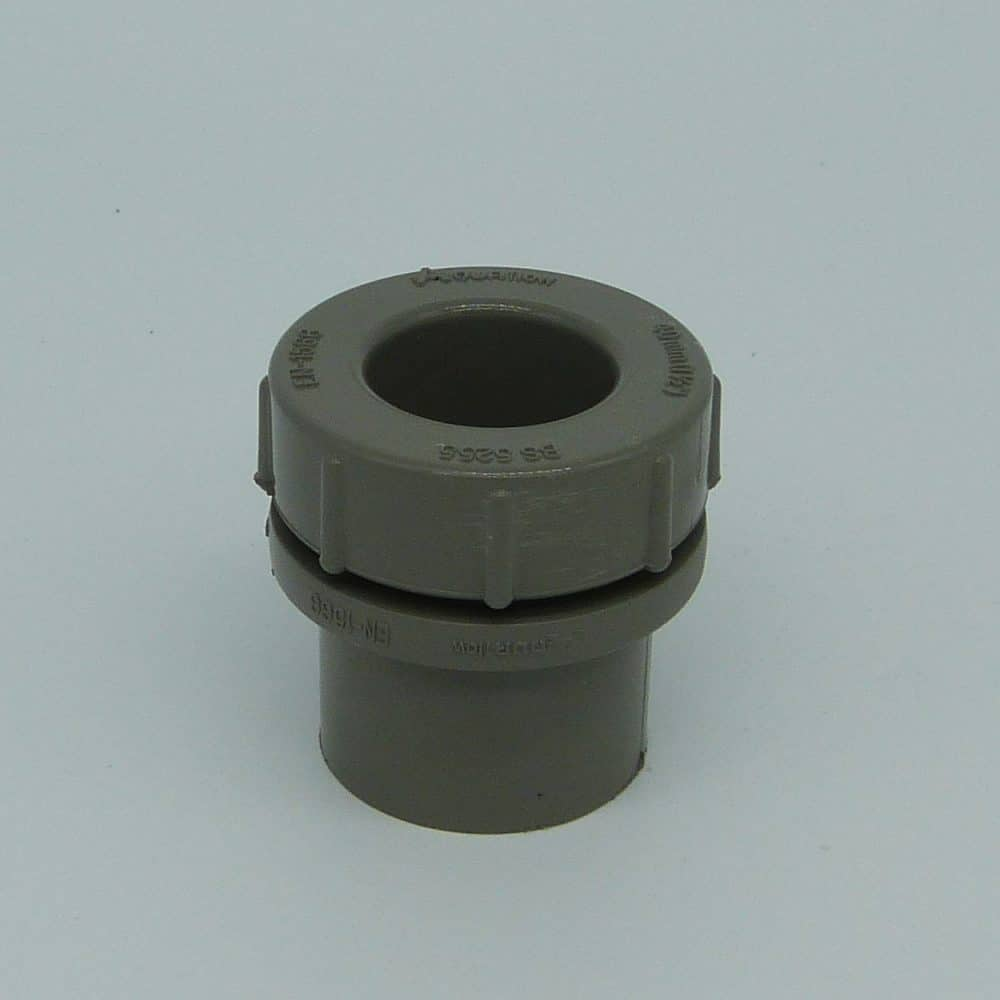 40mm Solvent Weld Access Plug Grey