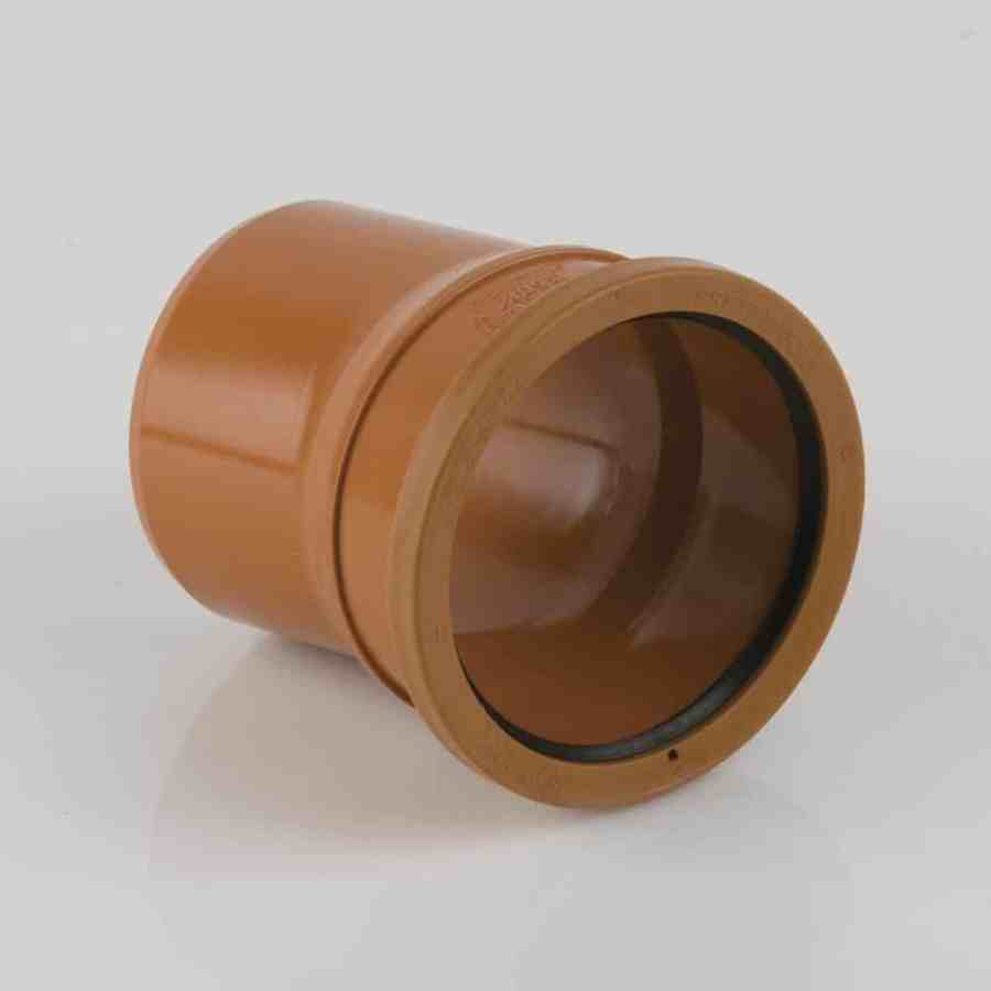 110mm Underground Drainage 11.25d Single Socket Bend
