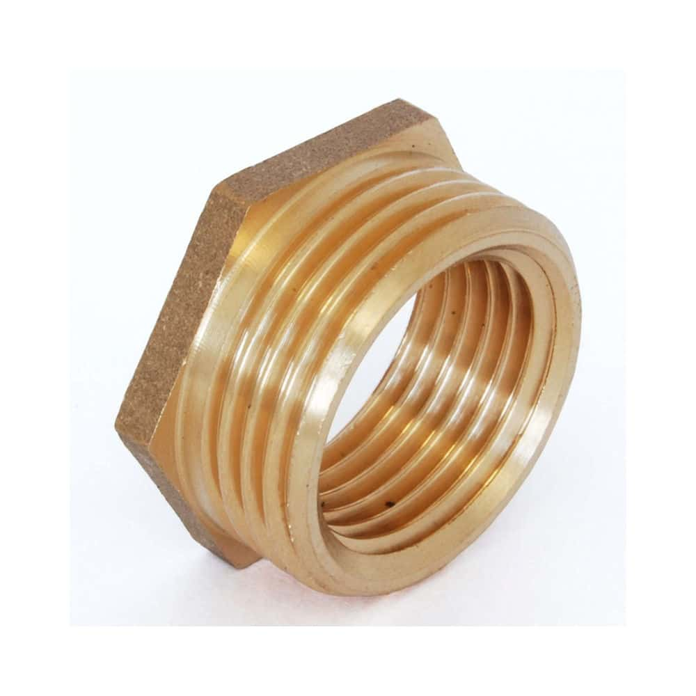"Brass Reducing Bush 3/4"" - 1/2"""