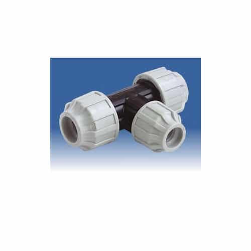 63mm - 50mm - 63mm MDPE Reducing Tee