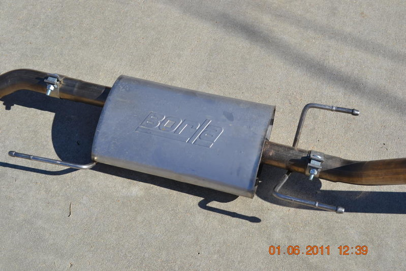 for sale borla exhaust system tacoma