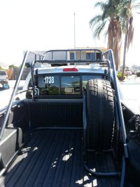 Chase Rack/ Spare tire carrier for sale | Tacoma World