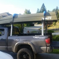 Boat rack options for 16 tacoma