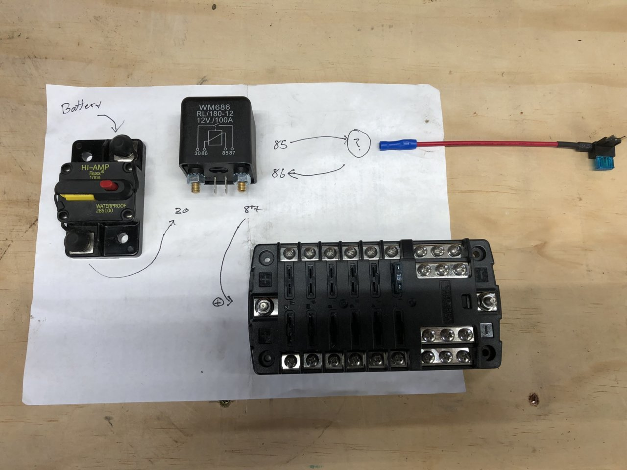 Aux Fuse Block Wiring Questions Jeepforumcom