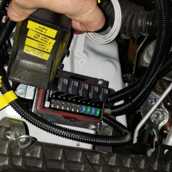 Led Light Bar Relay Wiring Diagram 24v Trolling Motor Off Road Lights On With High Beams W Toggle Switch Tacoma World I