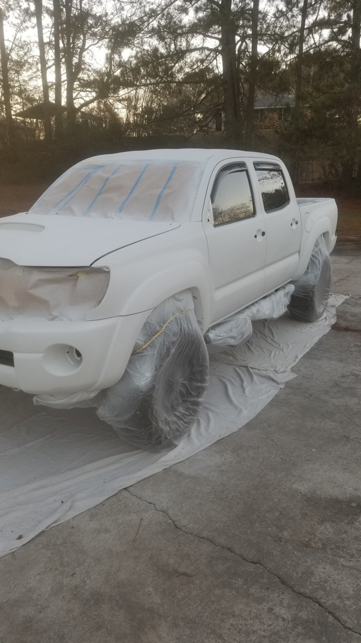 White Bed Liner Paint : white, liner, paint, Raptor, Liner, Paint, Tacoma, World