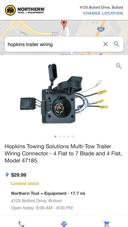 small resolution of  7 pin adapter i bought 65245f6b 034c 4363 9b91 08b702ec152f jpg