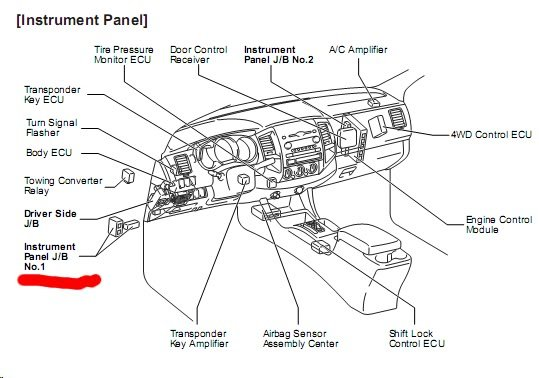 2015 Tacoma Airbag Wire Diagram : 31 Wiring Diagram Images