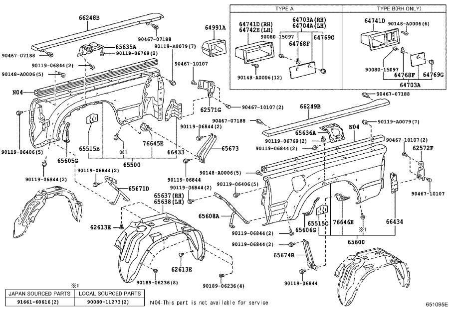 2009 Toyota Tacoma Parts ~ Best Toyota