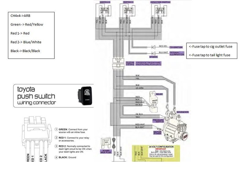 06 rubicon locker wiring diagram compressor