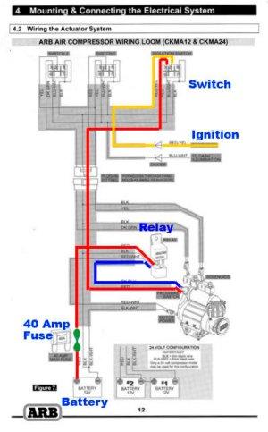 ARB CKMA12 Simple Wiring | Taa World