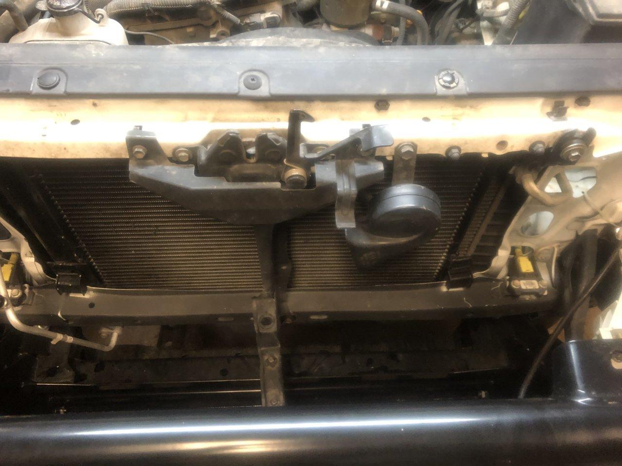 hight resolution of hf badlands 9k winch install arb bumper