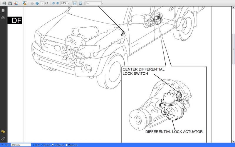 Toyota Tacoma Rear Differential Lock ~ Best Toyota