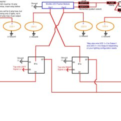 Led Turn Signal Flasher Wiring Diagram Narva Ignition Switch Flashers Doubling As Break Lights Page 2 Tacoma