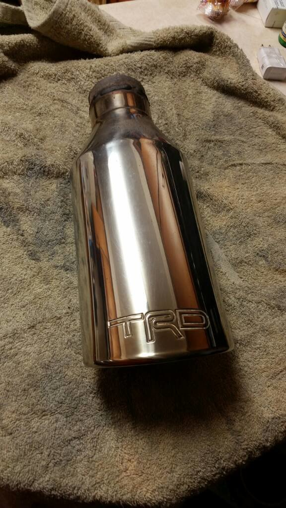 trd exhaust tip tacoma world