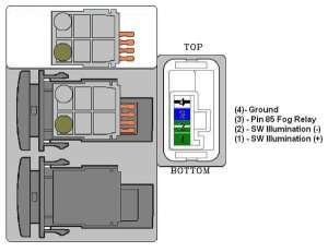 OEM to Air On Board Fog Light Switch Wiring | Taa World