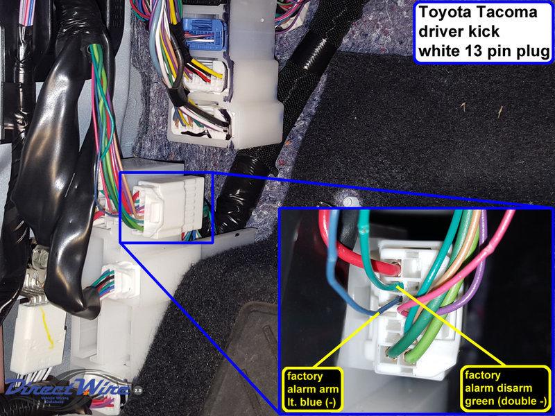 2016 Toyota Tacoma Radio Wiring Diagram