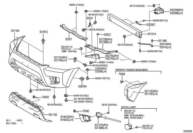 2010 Toyota Tundra Interior Parts Diagram