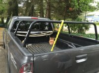All pro roof top tent rack