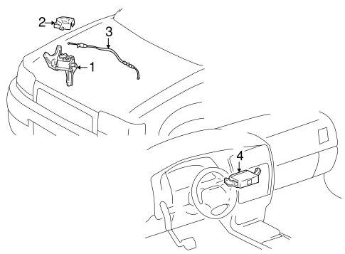 Universal Headlight Wiring Harness Universal Hood Release
