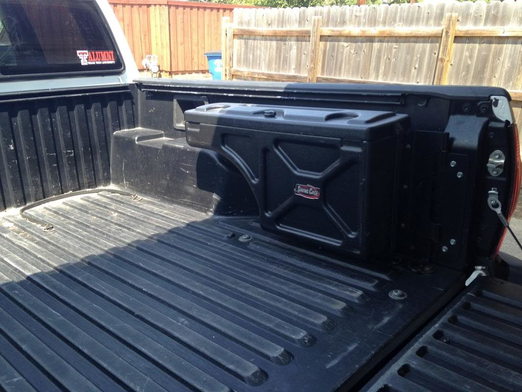 Toyota Pickup Fuse Box Swing Case Over Wheel Well Truck Tool Box Tacoma World