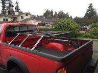 FS: CVT Mt Bachelor Roof Top Tent + Custom Bed Rack ...