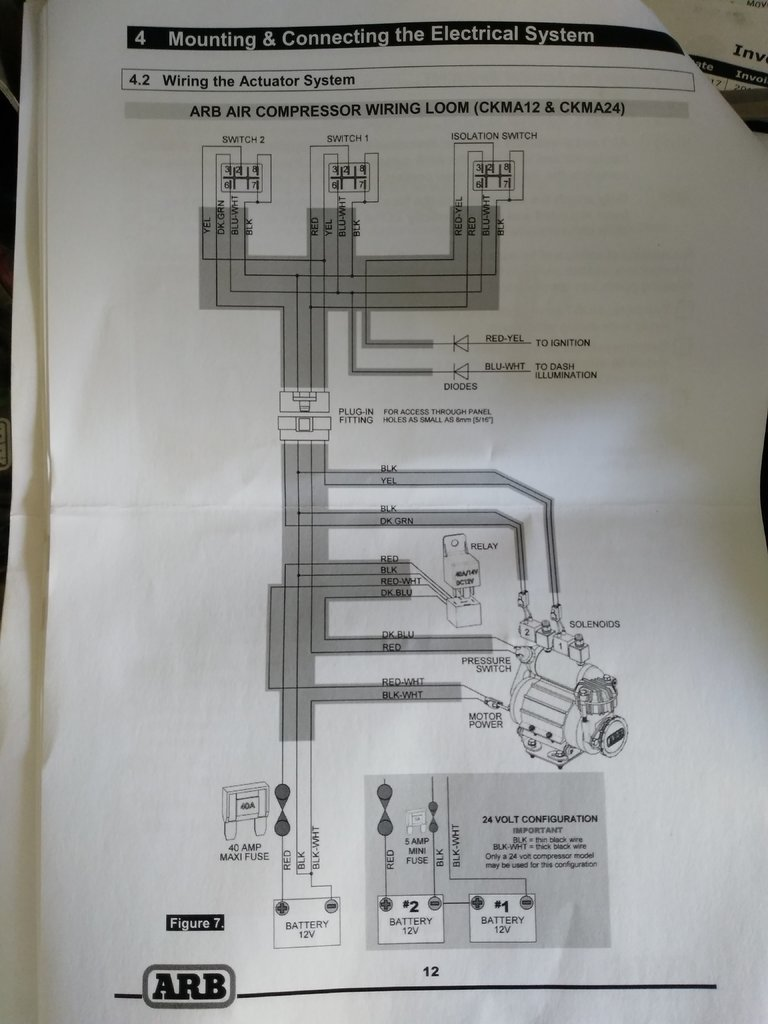 hight resolution of arb compressor wiring tacoma world arb air compressor switch wiring diagram arb compressor switch diagram