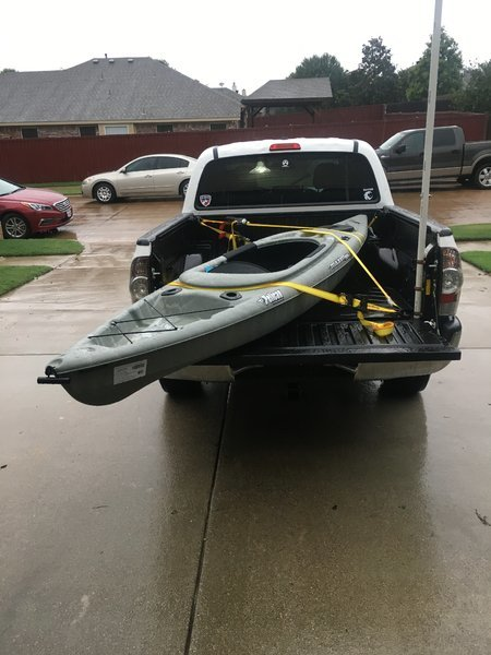 How To Tie Down A Kayak In A Truck Bed : kayak, truck, Kayaks, Possible?, Tacoma, World