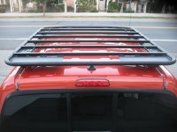 Warrior platform Roof Rack installed -First review ...