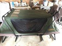 Cabela Tent Cot & Amazon.com Kodiak Canvas 1-Person Canvas ...