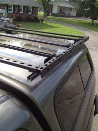 Building A Roof Rack. extrusions. diy roof rack for jeep