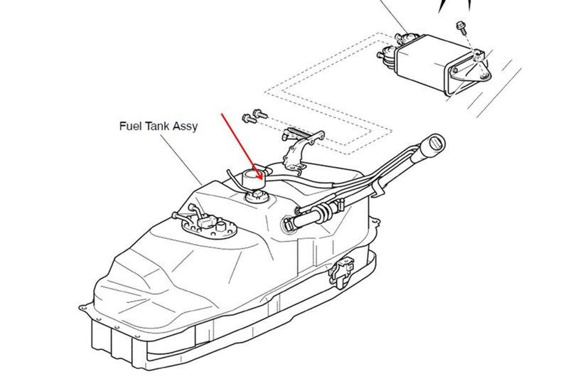 cavalier fuel filter leak