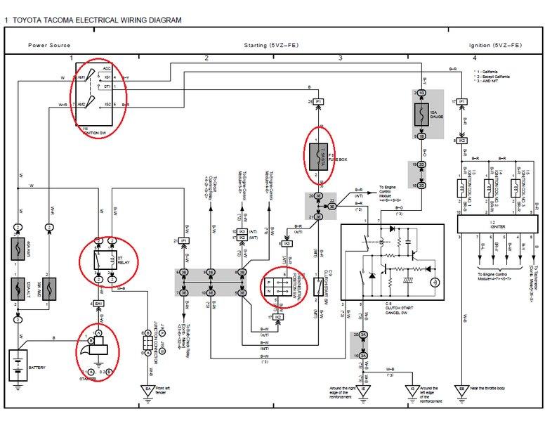 Toyota Tacoma Trailer Brake Controller Wiring Diagram