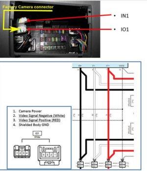 Backup Camera Wiring Diagram 4 Pin Vehicle Vehicle