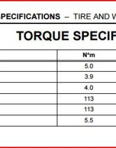 Toyota service manual tire and wheel torque specificationsg also spec for lug nuts tacoma world rh tacomaworld