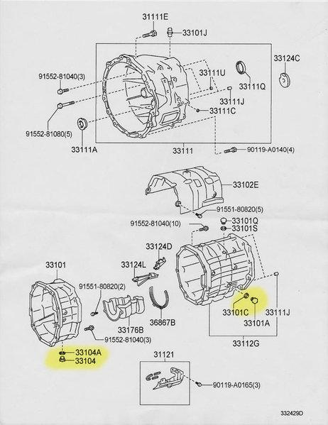 Toyota Tacoma 5 Sd Transmission Diagram. Toyota. Auto