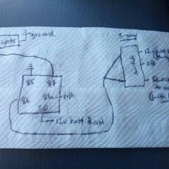 How To Wire A Light And Switch Diagram Honda Motorcycle Headlight Wiring Extra Reverse Lights Preexisting Uploadfromtaptalk1362173577248 Jpg