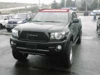 Roof Rack (OEM) with Off Road Lights