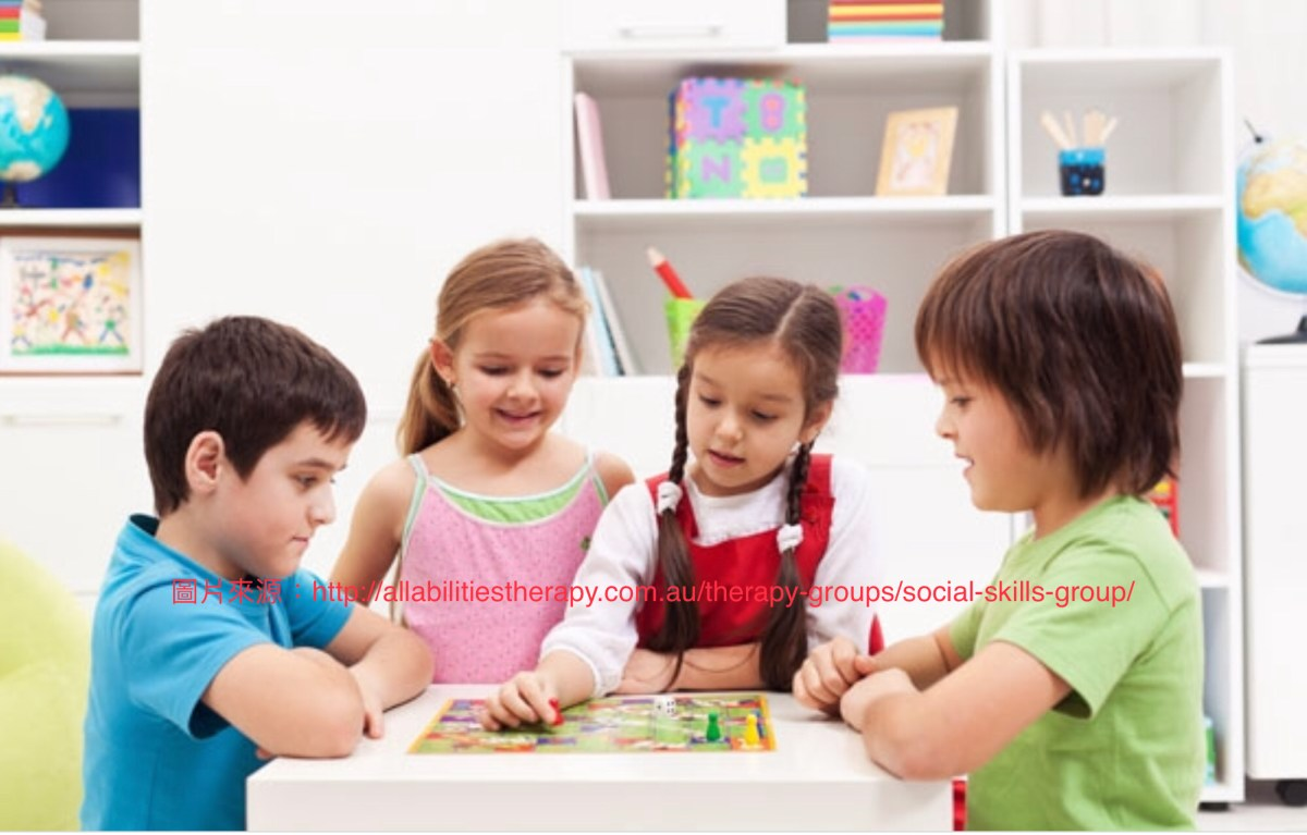 我的孩子習得參與社交團體的「先備技能」了嗎?