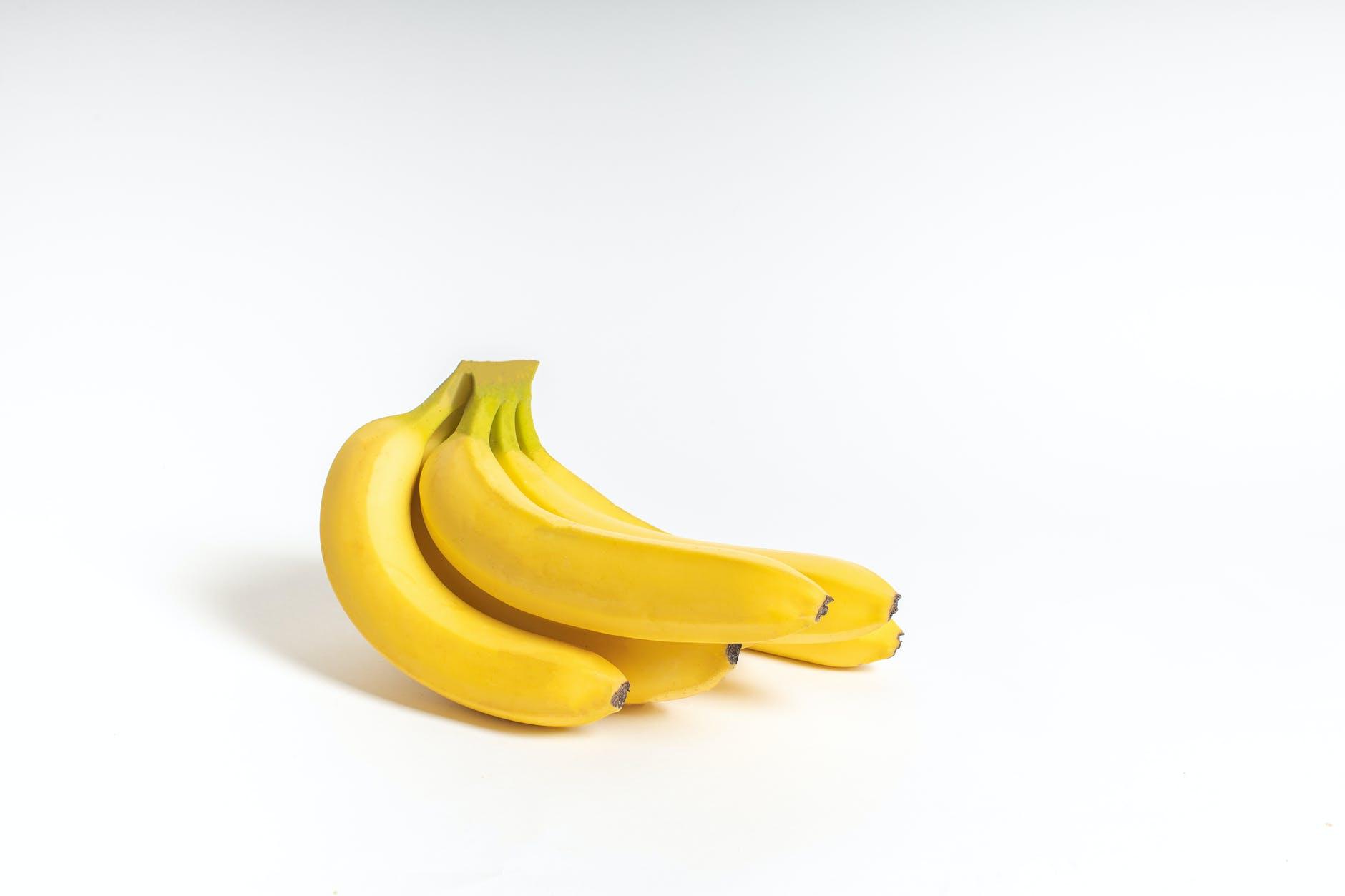 food summer yellow bananas