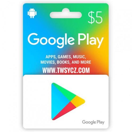 美國谷歌Play禮品卡