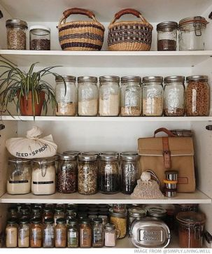 glass jars - Interior Design Ideas for a Sustainable Home