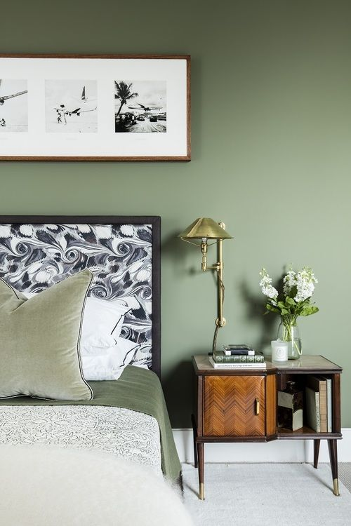 New Colour Trend Alert - Sage Green walls
