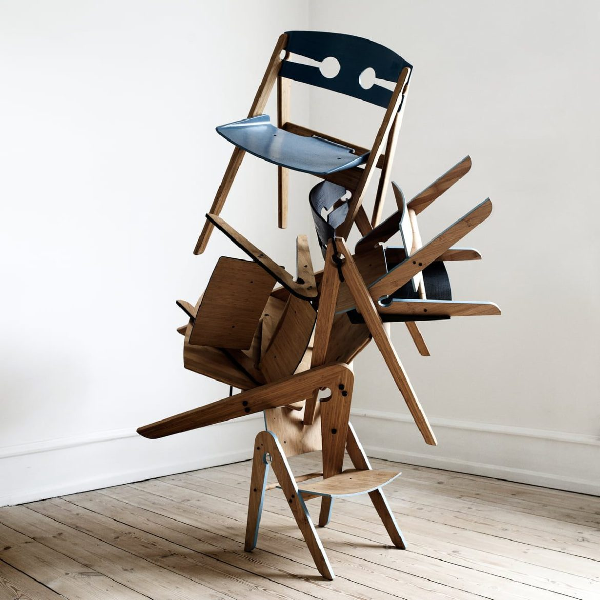 stacking chairs art made by a kids online shop