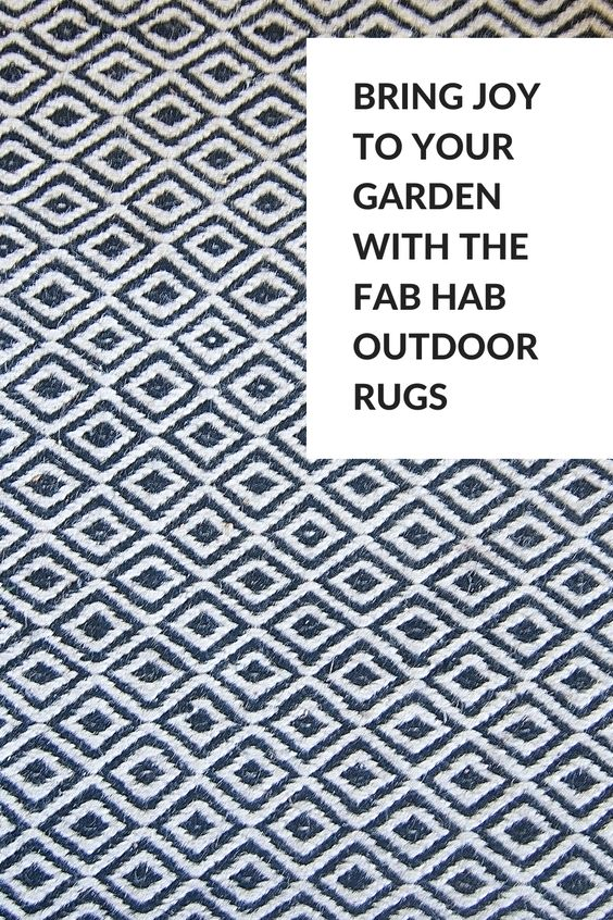 Bring joy to your garden with the Fab Hab Outdoor Rugs - Refresh your garden just in time for Summer with the Fab Hab outdoor rugs from Cuckooland. GoodWeave certified, made using fair trade principles-meaning and no harmful chemicals or dyes, these colourful outdoor rugs will bring light and life to your outdoor space. . . outdoor rugs patio diy outdoor rug outdoor rugs patio waterproof indoor outdoor rugs outdoor rugs on deck outdoor rug ideas boho outdoor rug