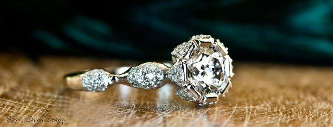 Customized Diamond Engagement Ring